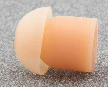 10pcs. Earbud Eartip for Security Surveillance Headsets beige