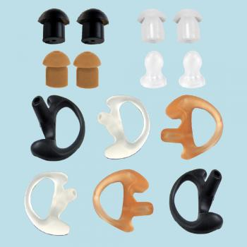 Earpieces Starter Kit Earpiece Earbuds Earmolds Acoustic Tube Security Headset